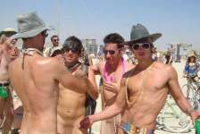 Naturist idea #22: Go to Burning Man