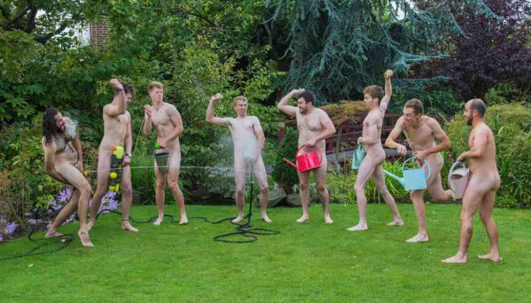 World Naked Gardening Day Saturday