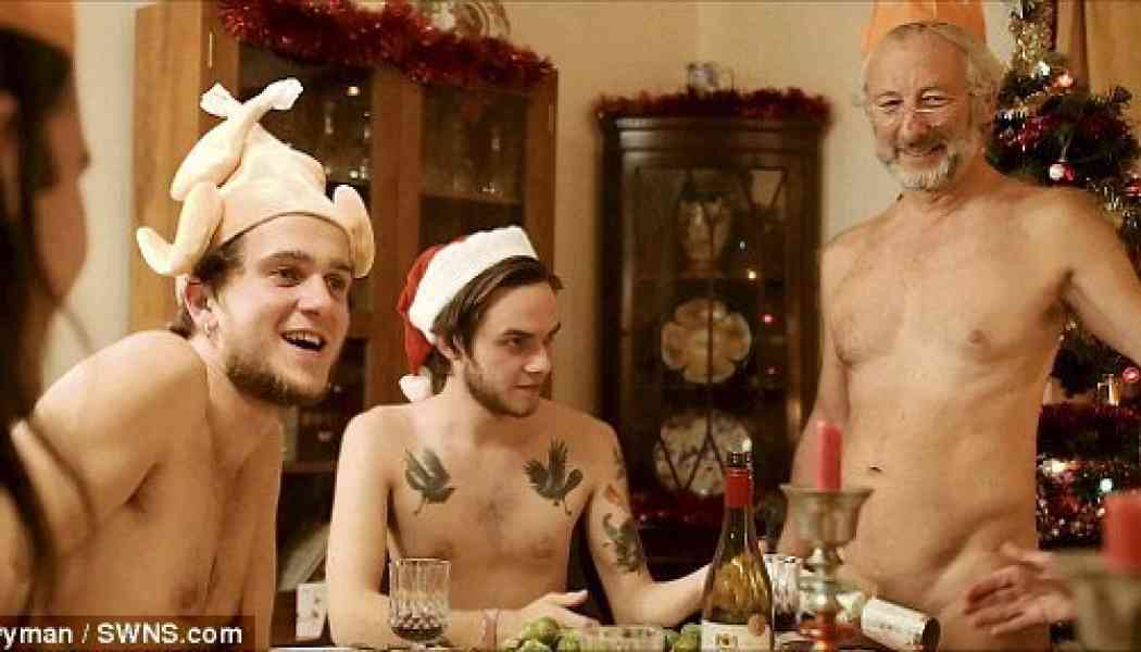 Video: Have a naked naturist Christmas
